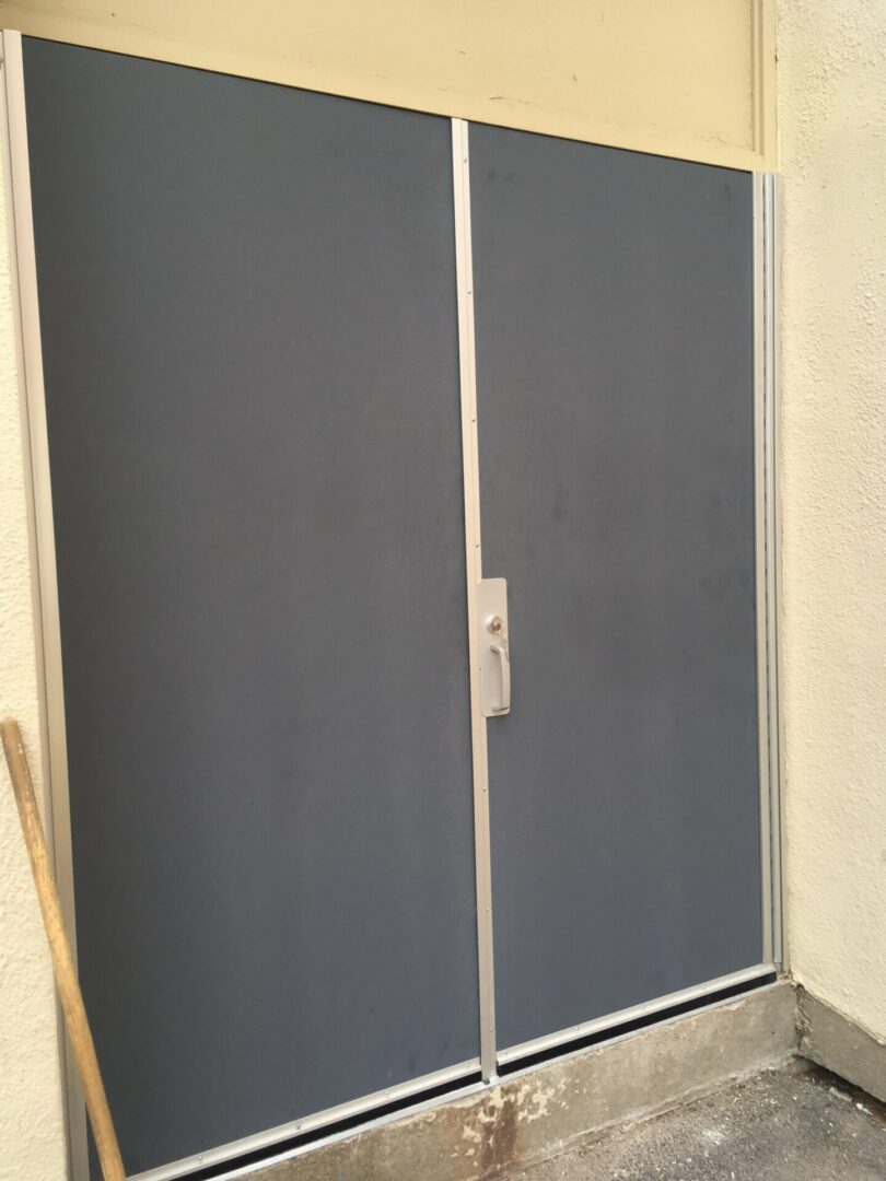 After - New Doors on Existing Frame