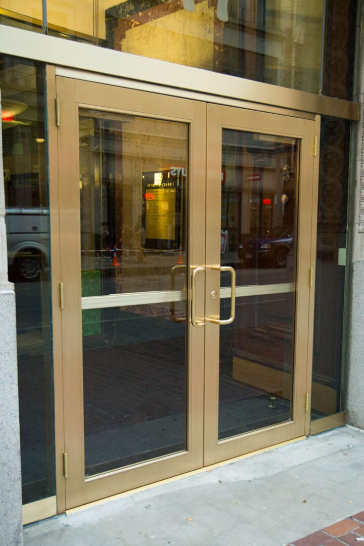 Superior Door Service Boston Commercial Door Service Marta Delannoy Aluminum Storefronts-8